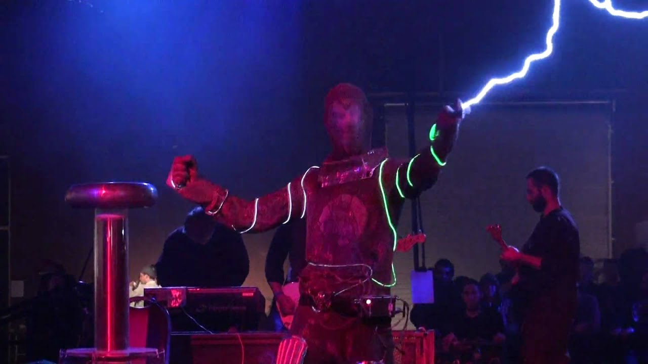 Tesla Coils Arc Attack Doctor Who Theme Song Makers
