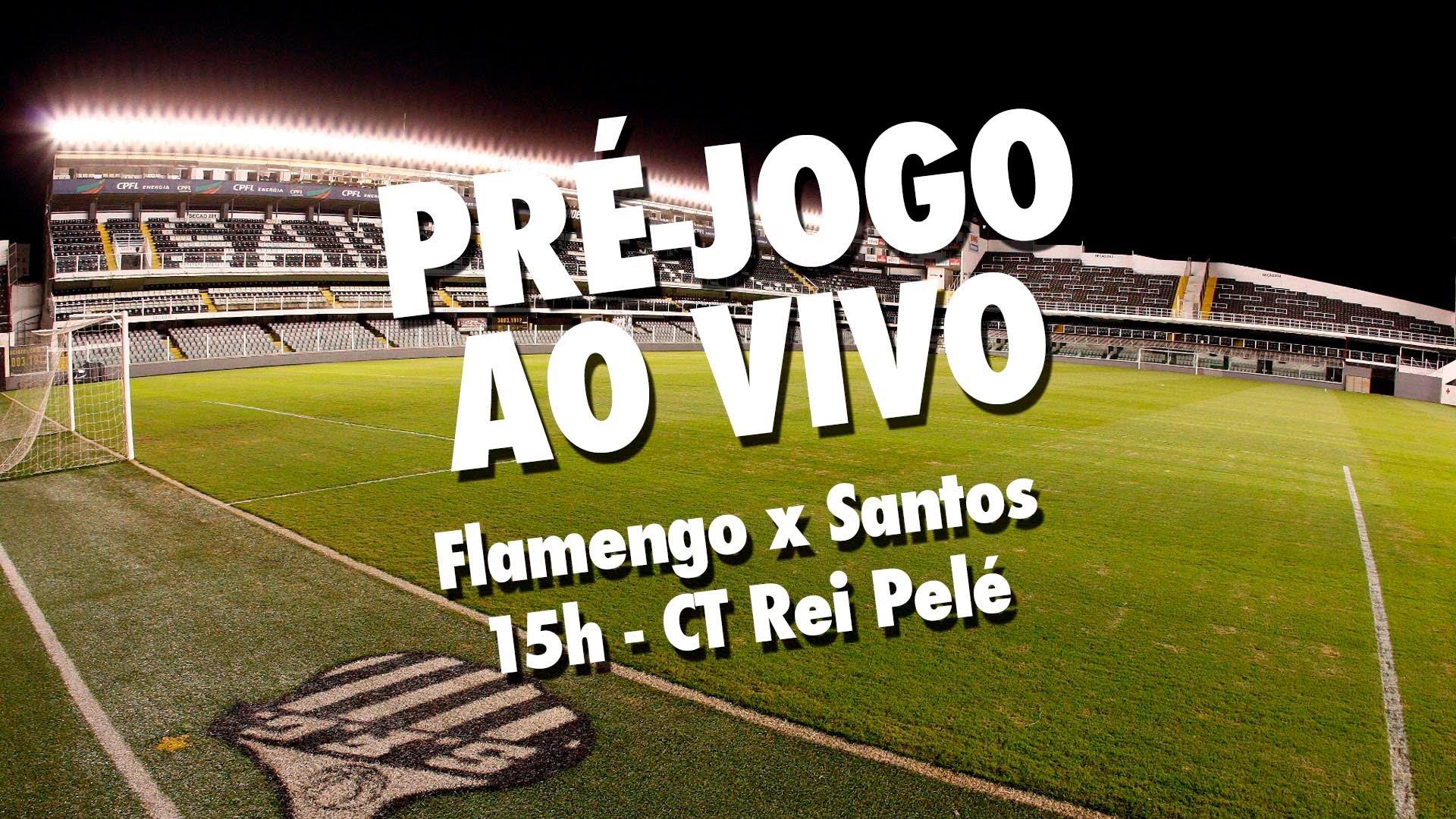 Flamengo x Santos   PRÉ-JOGO AO VIVO   Brasileirão (02/08/15)