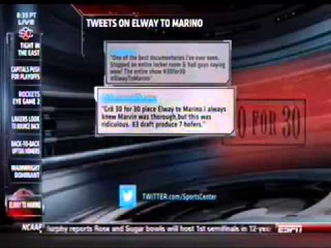 Sam Stein's Tweet On SportsCenter