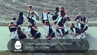 Eva S. -  Blood fire - Choreography by Danny Demehin - Open Art Studio