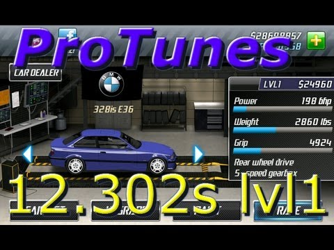 Drag Racing v1.6 BMW 328is 12.302