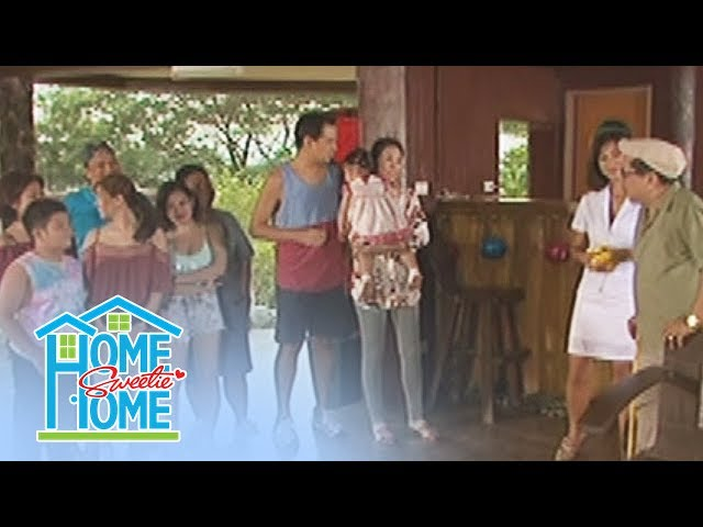 Home Sweetie Home: Romeo and his family are impressed by Manuel's house