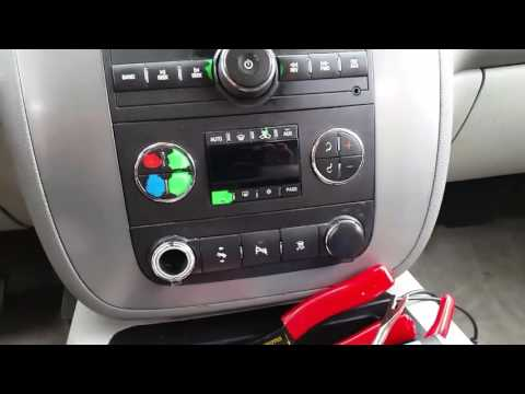 Replacing cigarette lighter with USB charging port on a 2008 GMC Yukon.