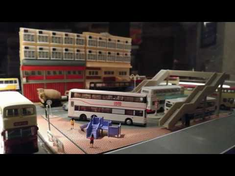 Tomytec double deck KMB Dennis and Leyland bus system 1/150 n scale HONG KONG