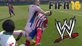 FIFA 16 Fails - With WWE Commentary #13
