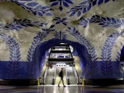 Swedish Subway / Stockholm Metro - The World s Longest Art Museum