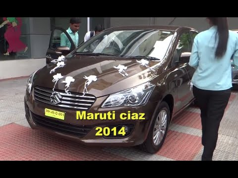 MARUTI CIAZ NEW 2014 | REVIEW | PRICE | ON ROAD LOOK !