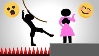 Stickmen Will Do ANYTHING For Stickwomen - Who Dies First