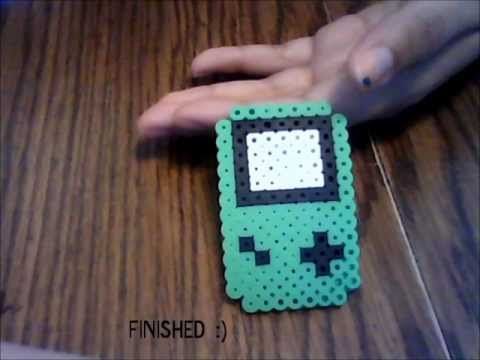 Color Bead Game Perler Bead Game Boy Color