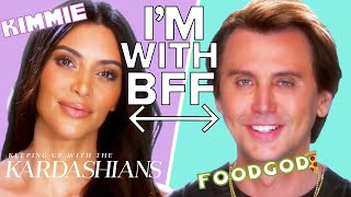 Kim Kardashian & Jonathan Cheban Are True Best Friends | KUWTK | E!