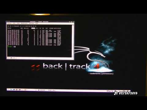 Crack Wireless Network WEP's Key (BackTrack)