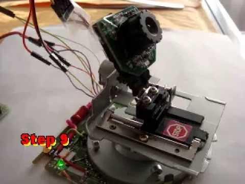 Hacking Floppy Disk Stepper Motor Control Diy Ptz Camera