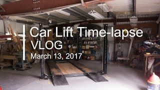 Car Lift Time-lapse VLOG