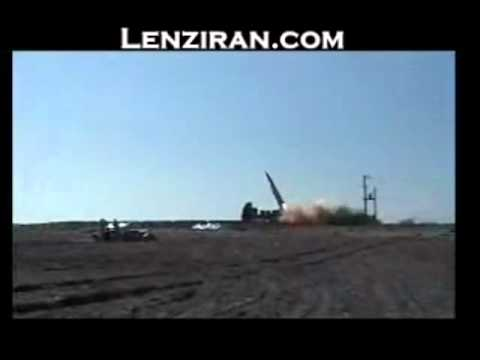 Iran launched super sonic stealth  Persian Gulf  misiile