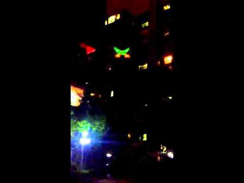 NIGHT LIONS TECH---big size quadcopter Monster Dron N7C night flying review 2