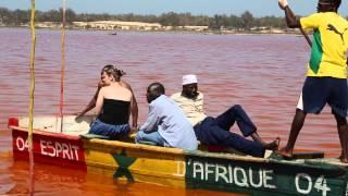 Decouvrir le lac rose, une merveille du Sénégal