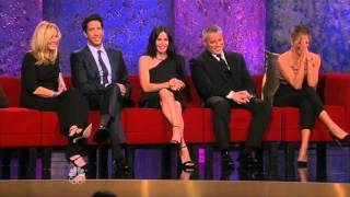 Friends : Amazing reunion 2016 - Rachel, Monica , Phoebe, Joey, Chandler and Ross