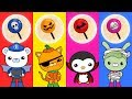 Learn Colors With Halloween Octonauts & Candy For Babies Kids - LuLuPop TV
