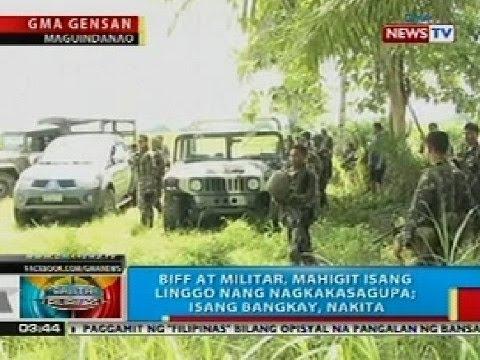 BP: Mahigit 1,000 residente ng Maguindanao, inilikas dahil sa bakbakan