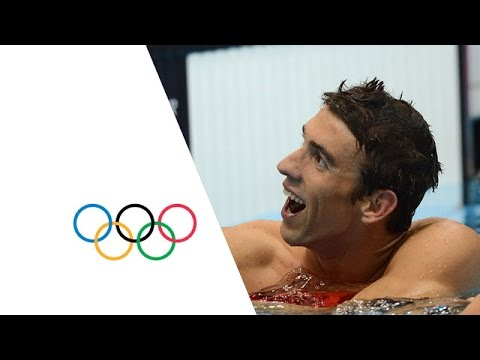 Phelps Wins Record Breaking 19th Olympic Medal   London 2012 Olympics