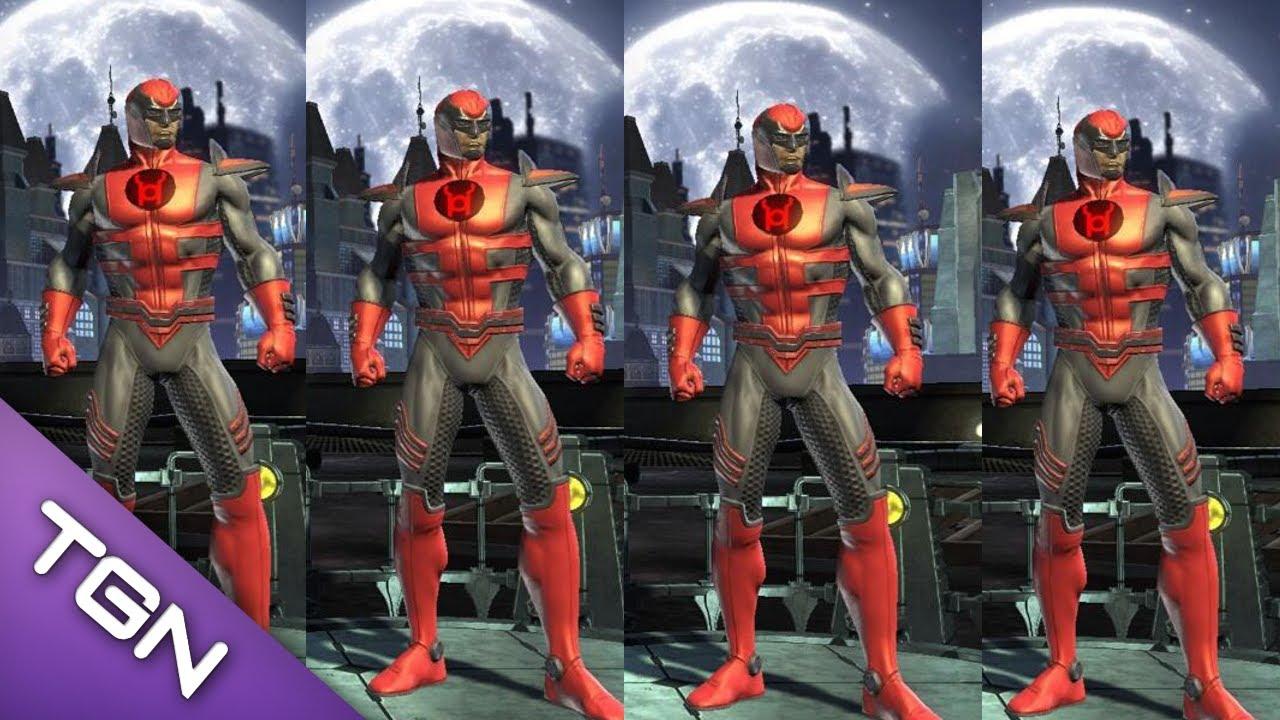 Dcuo New Dlc War Of Light Red Lantern Armor Official