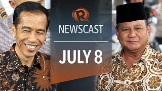 Rappler Newscast: Jokowi slim lead, musicians support, bishops on medical marijuana