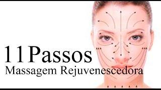 11 passos massagem facial rejuvenescedora com Penelope Beolchi