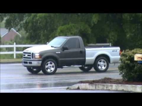 F-250 Regular Cab Short Bed - First Test Drive - YouTube