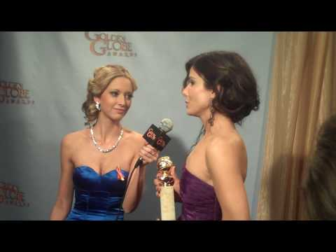 Golden Globes Backstage: Sandra Bullock Video