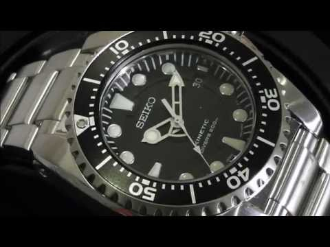2S Time - SEIKO SKA371P1 Kinetic Diver's Watch 200m