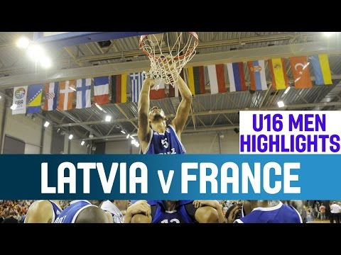 Latvia v France- Highlights - Final - 2014 U16 European Championship