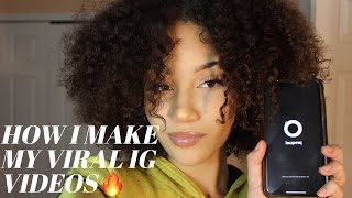 HOW I EDIT MY VIRAL INSTAGRAM VIDEOS✨🔥| PREQUEL| NYDIAH SOTO