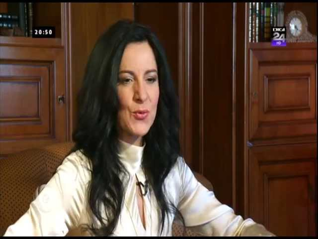 Angela Gheorghiu - Interview for Dig24HD Romania - full length - March 2013