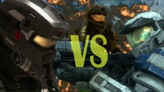 Wuiber vs Ayuda Mundial (Machinima Halo Reach)