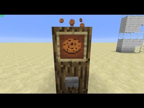 Cookie Clicker in Minecraft