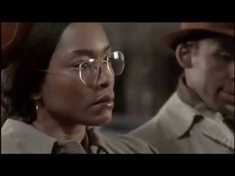 Scène de l'arrestation de Rosa Parks