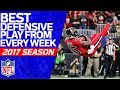 Best Defensive Play from Every Week | 2017 NFL Highlights MP3