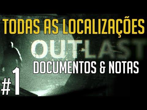 Outlast Detonado Capítulo 01 - Todas as Localizações dos Documentos e Notas
