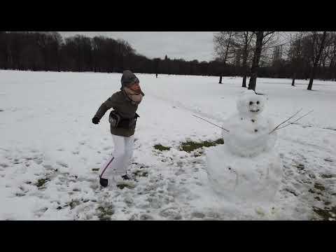 Winterspaziergang Englischer Garten (Test DJI OSMO Pocket)