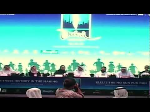 DUBAI MIDNIGHT MARATHON - 12 12 1 2 - THE NO SUN FUN RUN - PRESS MEET - PART 2
