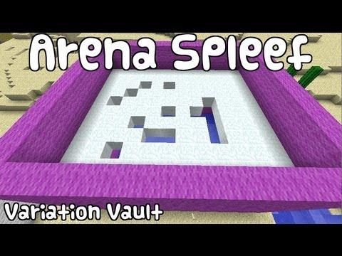 Minecraft Bukkit Plugin - Arena Spleef - Battle Arena - Break the Floor!