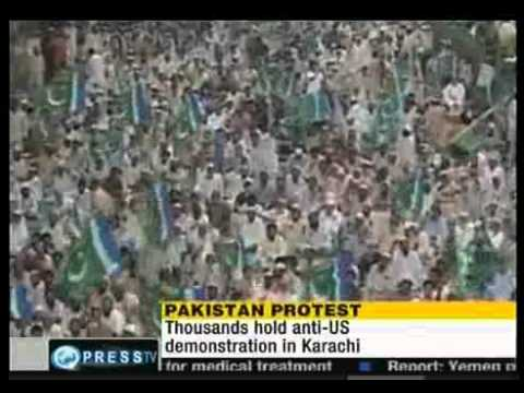 Pakistanis Hold Anti-U.S Protests