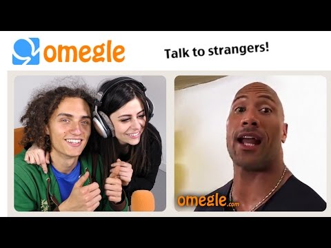 MEETING THE ROCK ON OMEGLE!