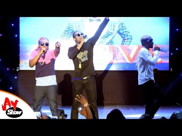 D'Banj, Olamide, Kay Switch, Kcee, Osita Ihieme Performes on AY Live