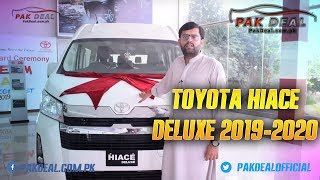 All New Toyota Hiace Deluxe 2019, 2020 6th Generation Model in Pakistan