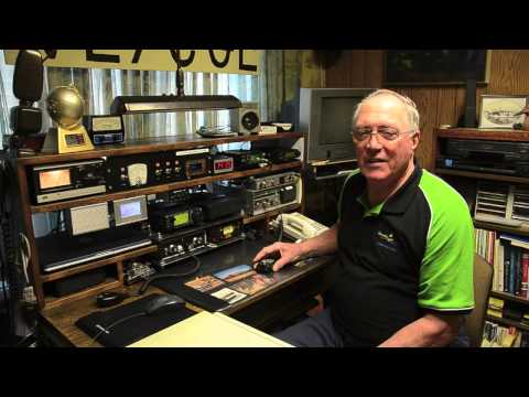 Lou Beaubien, Burnaby's citizen of the year explains how ham radios work.
