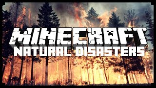 NATURAL DISASTERS IN MINECRAFT! (MC Command Block Creation)