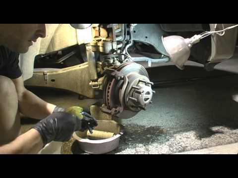 how to change hub f 350 ford 2002