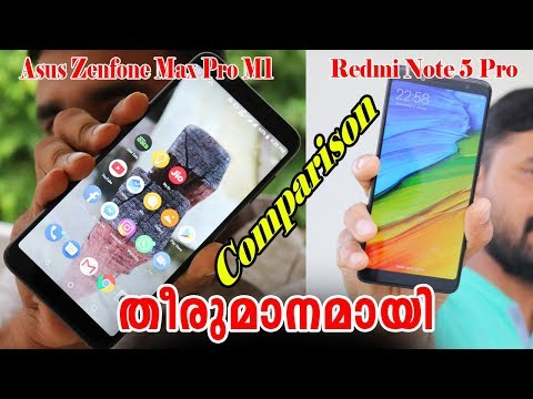 Asus Zenfone Max Pro m1 vs Redmi Note 5 Pro By Computer and mobile tips