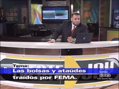 FEMA, ¿Bolsas y ataudes para Puerto Rico?